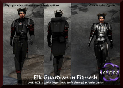 Elk Guardian in Fitmesh